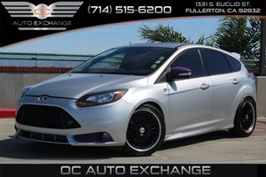 2014 Ford Focus ST Carfax 1-Owner  Ingot Silver Metallic          21205 Per Month - On Appro