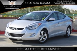 2013 Hyundai Elantra GLS Carfax 1-Owner - No AccidentsDamage Reported  Shimmering Air Silver