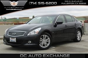 2015 INFINITI Q40  Carfax 1-Owner - No AccidentsDamage Reported  Black Obsidian  We are not r