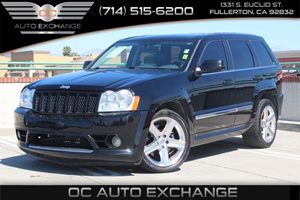 2007 Jeep Grand Cherokee SRT-8 Carfax Report - No AccidentsDamage Reported  Black          2