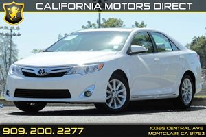 2014 Toyota Camry XLE Carfax 1-Owner Audio  Auxiliary Audio Input Convenience  Automatic Headl