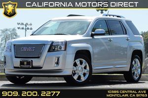 2013 GMC Terrain Denali Carfax 1-Owner - No AccidentsDamage Reported Audio  Auxiliary Audio Inp