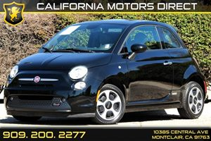 2015 FIAT 500e  Carfax 1-Owner 6-Way Driver Seat -Inc Manual Recline Height Adjustment ForeAf