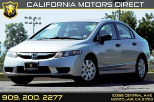 2011 Honda Civic Sdn DX-VP Carfax 1-Owner - No AccidentsDamage Reported Audio  Auxiliary Audio