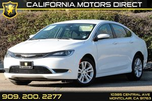 2016 Chrysler 200 Limited Carfax 1-Owner - No AccidentsDamage Reported 6-Way Passenger Seat -Inc