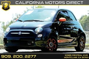 2015 FIAT 500e  Carfax 1-Owner - No AccidentsDamage Reported 6-Way Driver Seat -Inc Manual Recl