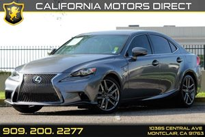 2015 Lexus IS 250  Carfax 1-Owner Audio  Auxiliary Audio Input Audio  Cd Player Audio  Hd Ra