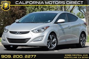 2014 Hyundai Elantra Limited Carfax 1-Owner Audio  Auxiliary Audio Input Audio  Cd Player Aud