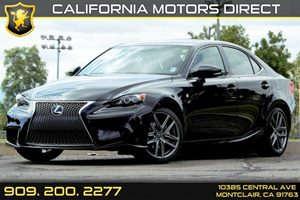 2015 Lexus IS 250  Carfax 1-Owner - No AccidentsDamage Reported  Black  We are not responsibl