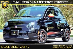 2014 FIAT 500e  Carfax 1-Owner - No AccidentsDamage Reported  Nero Puro Straight Black  We