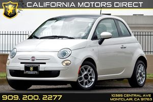 2013 FIAT 500 Pop Carfax 1-Owner - No AccidentsDamage Reported  Bianco White  We are not re