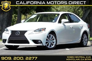 2015 Lexus IS 250  Carfax 1-Owner Audio  Cd Player Audio  Satellite Radio Convenience  Autom