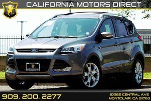 2014 Ford Escape Titanium Carfax 1-Owner - No AccidentsDamage Reported Audio  Auxiliary Audio I