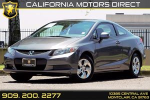 2013 Honda Civic Cpe LX Carfax 1-Owner 2-Tier Instrument Panel WBlue Backlit Gauges -Inc Tachom