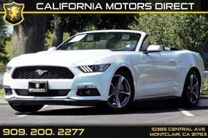 2015 Ford Mustang V6 Carfax 1-Owner - No AccidentsDamage Reported  Oxford White  We are not r