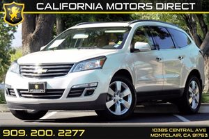 2014 Chevrolet Traverse LTZ Carfax 1-Owner  White  We are not responsible for typographical er