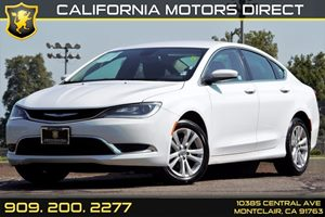 2015 Chrysler 200 Limited Carfax 1-Owner Audio  Auxiliary Audio Input Audio  Mp3 Player Chrom