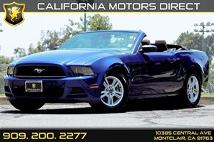 2014 Ford Mustang V6 Carfax 1-Owner - No AccidentsDamage Reported 6-Way Driver Seat -Inc Manual