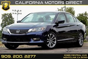 2013 Honda Accord Sdn Sport Carfax 1-Owner 8 Multi-Info Display -Inc Avg Fuel Economy Digital