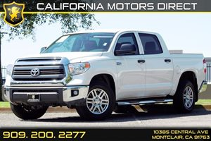 2015 Toyota Tundra 2WD Truck SR5 Carfax 1-Owner - No AccidentsDamage Reported  Super White  W