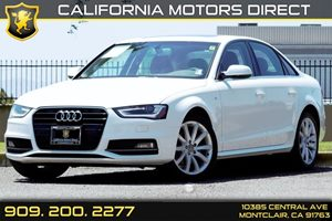 2014 Audi A4 Premium Carfax 1-Owner Audio  Auxiliary Audio Input Audio  Cd Player Audio  Sat