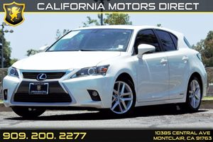 2015 Lexus CT 200h Hybrid Carfax 1-Owner Audio  Auxiliary Audio Input Audio  Cd Player Conven