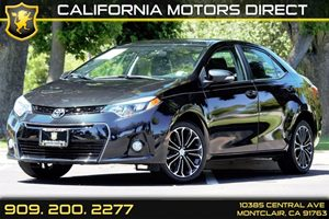 2014 Toyota Corolla S Plus Carfax 1-Owner Audio  Auxiliary Audio Input Audio  Cd Player Body-