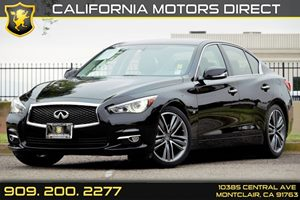 2014 INFINITI Q50 Premium Carfax 1-Owner  Black Obsidian  We are not responsible for typograph