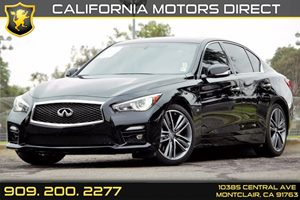 2014 INFINITI Q50 Sport Carfax 1-Owner  Black Obsidian  We are not responsible for typographic