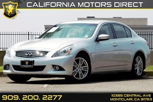 2013 INFINITI G37 Sedan Journey Carfax 1-Owner - No AccidentsDamage Reported Audio  Auxiliary A