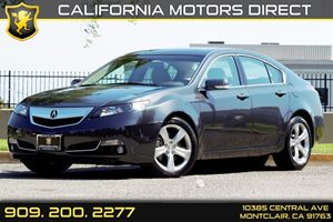 2013 Acura TL Advance Carfax 1-Owner  Graphite Luster Metallic 25492 Per Month - On Approved