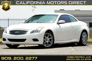 2009 INFINITI G37 Convertible Base Carfax Report Audio  Auxiliary Audio Input Audio  Satellite