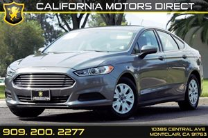 2014 Ford Fusion S Carfax 1-Owner Audio  Auxiliary Audio Input Audio  Cd Player Convenience