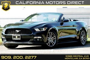 2016 Ford Mustang EcoBoost Premium Carfax 1-Owner - No AccidentsDamage Reported Audio  Auxiliar