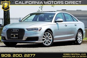 2016 Audi A6 20T Premium Carfax 1-Owner - No AccidentsDamage Reported  Florett Silver Metalli