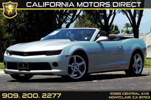 2015 Chevrolet Camaro LT Carfax 1-Owner - No AccidentsDamage Reported  Silver Ice Metallic  W