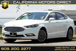 2017 Ford Fusion Hybrid Titanium Carfax 1-Owner - No AccidentsDamage Reported Audio  Auxiliary