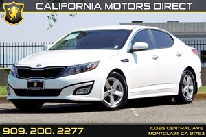 2014 Kia Optima LX Carfax 1-Owner  Snow White Pearl  We are not responsible for typographical