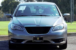 2011 Chrysler 200 S Carfax Report - No AccidentsDamage Reported  Gray  We are not responsible
