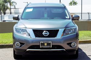 2015 Nissan Pathfinder SL Carfax 1-Owner - No AccidentsDamage Reported  Gray  We are not resp