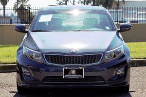 2014 Kia Optima Hybrid EX Carfax 1-Owner - No AccidentsDamage Reported  Smokey Blue Metallic