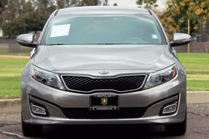 2015 Kia Optima LX Carfax 1-Owner  Gray  We are not responsible for typographical errors All