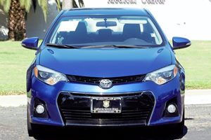 2014 Toyota Corolla S Carfax 1-Owner  Blue Crush Metallic  We are not responsible for typograp