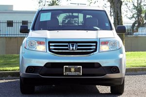 2015 Honda Pilot LX Carfax 1-Owner - No AccidentsDamage Reported  Alabaster Silver Metallic