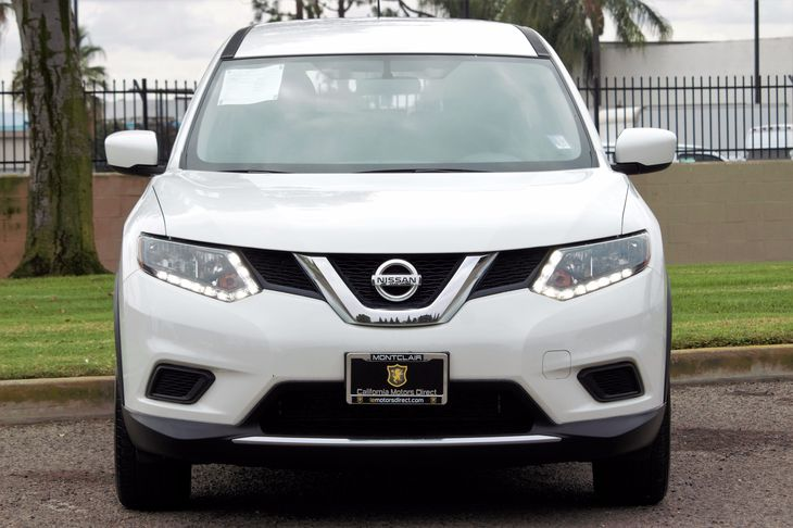 2016 Nissan Rogue S  Glacier White All advertised prices exclude government fees and taxes any