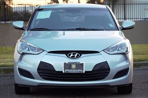 2014 Hyundai Veloster Base Carfax Report - No AccidentsDamage Reported  Ironman Silver Metalli