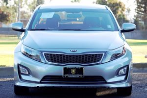 2014 Kia Optima Hybrid LX Carfax 1-Owner  Aluminum Silver Metallic  We are not responsible for
