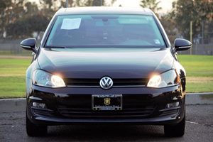 2015 Volkswagen Golf TDI SE Carfax 1-Owner  Black  We are not responsible for typographical er