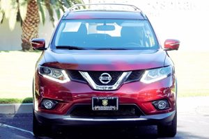 2015 Nissan Rogue SL Carfax 1-Owner  Cayenne Red  We are not responsible for typographical err