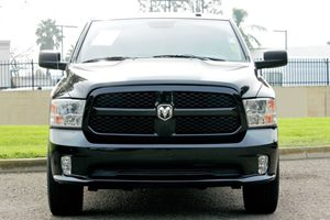 2015 Ram 1500 Express Carfax 1-Owner - No AccidentsDamage Reported  Black  We are not respons